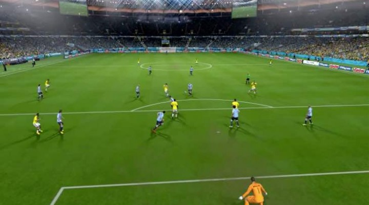 James Rodriguez Puskas goal of the year recreated