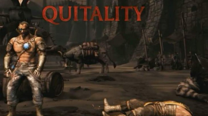 Mortal Kombat X Quitality for rage quit losers