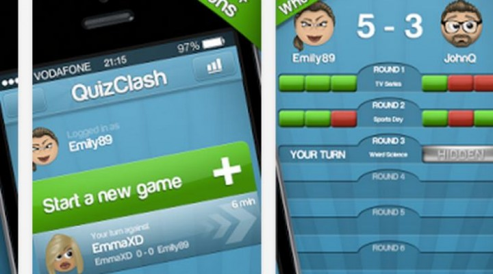 Quizduell English app with Quizclash