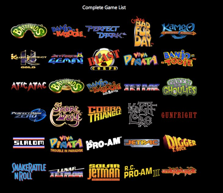 rare-replay-full-game-list