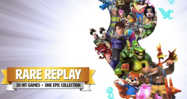 Rare Replay Games List with missing titles