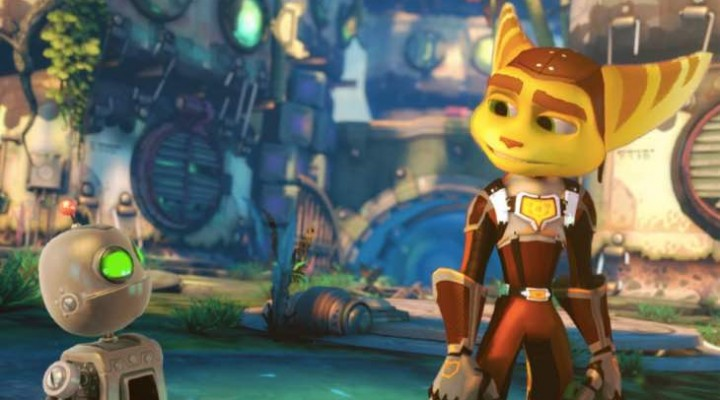 Ratchet and Clank screenshot from PS4 game or movie