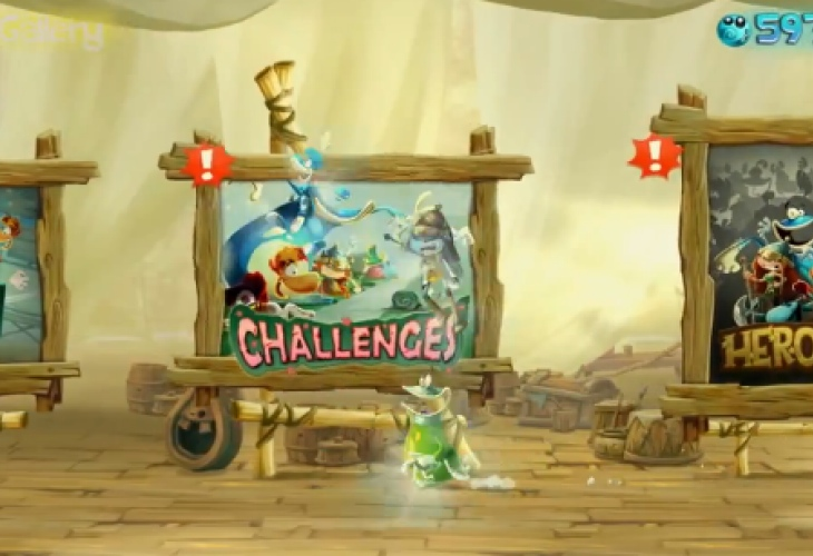 Rayman Legends Wii U has some exclusivity after all