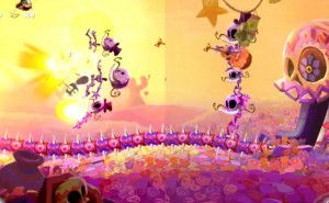 Rayman Legends PS3 Vs Wii U graphics untouched