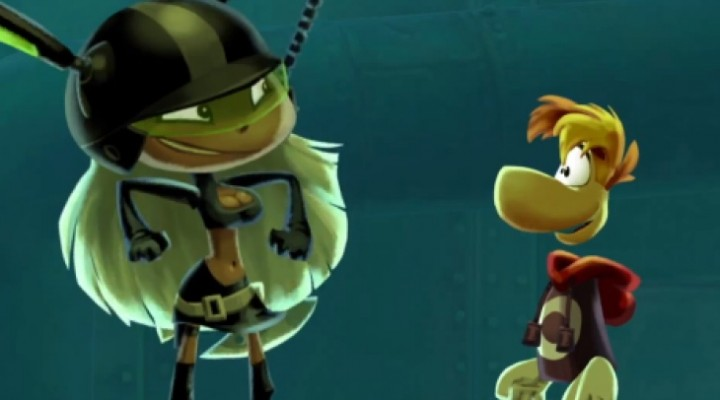 Rayman Legends underwater exploration is beautiful