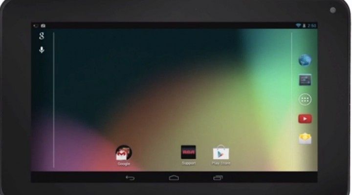 RCA RCT6378W2 7-inch Dual Core tablet visually demoed