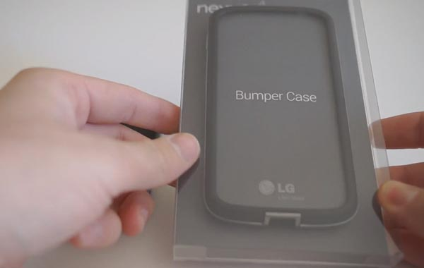 Nexus 4 double review for Bumper case