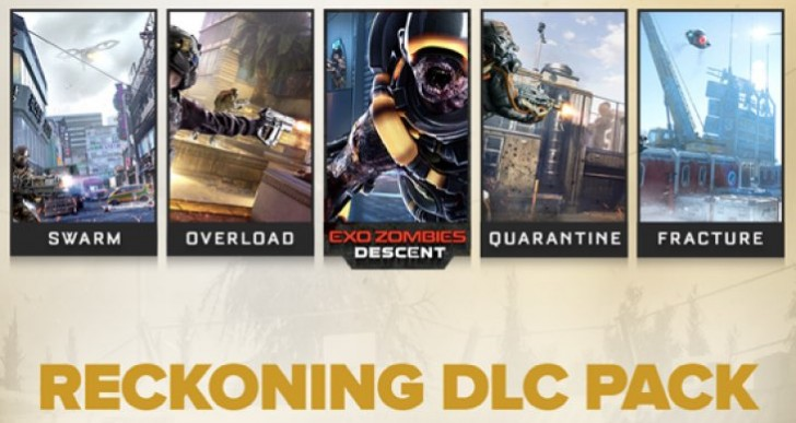 Advanced Warfare Reckoning PS4, PS3 DLC release time