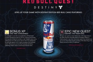 Destiny codes from real Red Bull cans