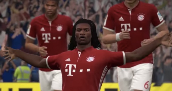 Renato Sanches Golden Boy squad builder in FIFA 17