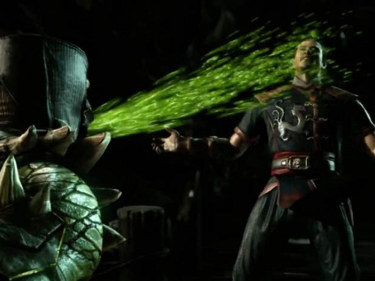 Mortal Kombat X Reptile Variations Fatalities Excitement
