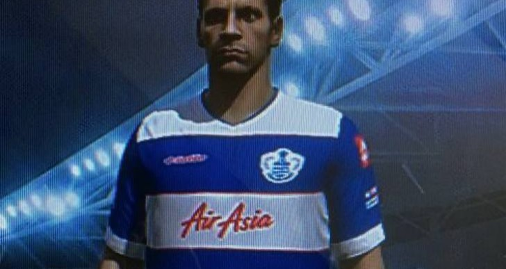 Rio Ferdinand in QPR shirt, FIFA 15 downgrade