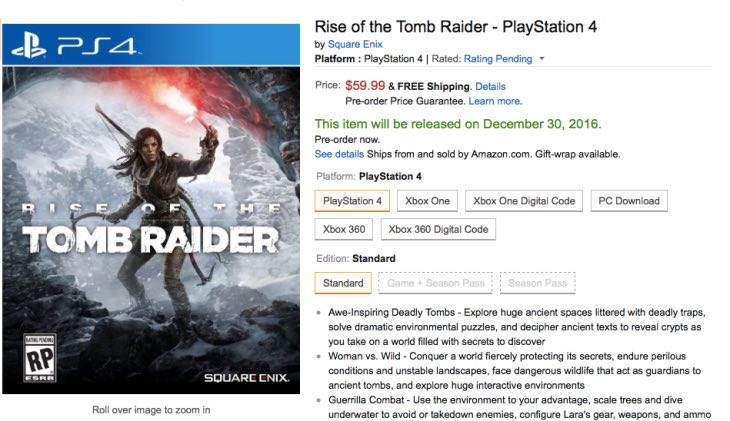 rise-of-the-tomb-raider-ps4-release-date