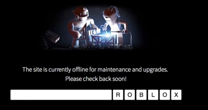Roblox down for surprise server maintenance