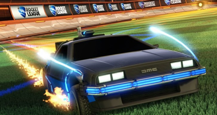 Rocket League Back to the Future DeLorean DLC price