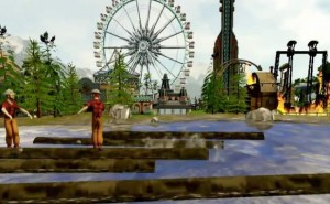 Rollercoaster Tycoon World graphics complaints
