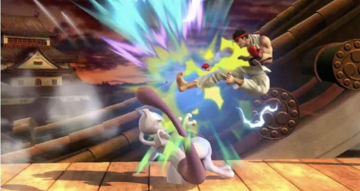 Smash Bros 1.0.8 update with Ryu DLC live