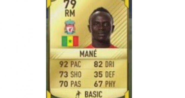 Sadio Mane FIFA 17 rating upgrade for LFC