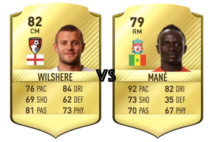 sadio-mane-rating-vs-wilshere-fifa-17