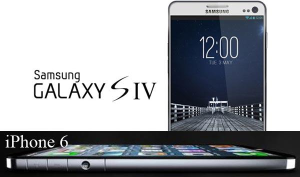 Samsung Galaxy S4 vs. iPhone 6 by reputation