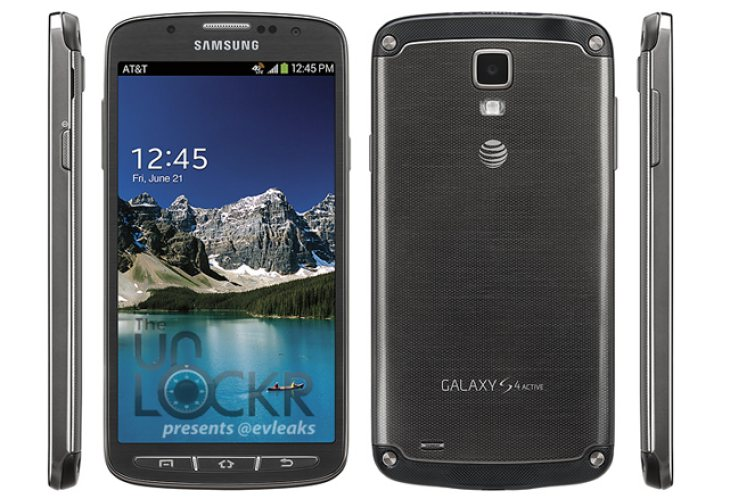 Samsung Galaxy S4 Active visual shows reinforced body