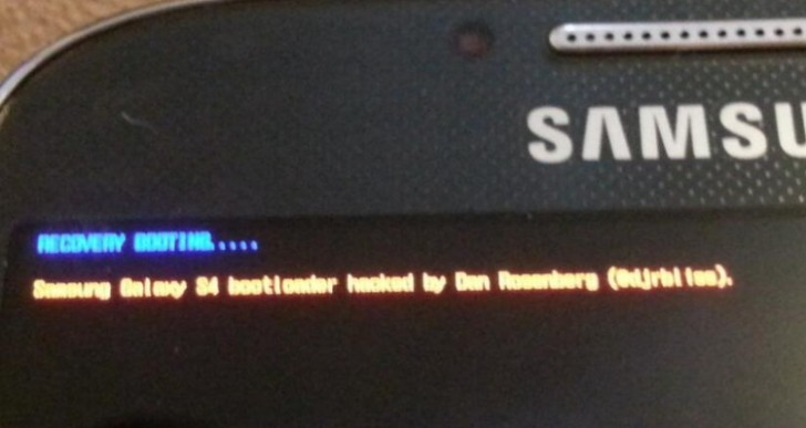 Samsung Galaxy S4 bootloader download relies on Verizon