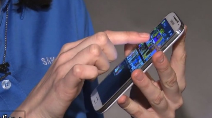 Samsung Galaxy S4 features overview on video