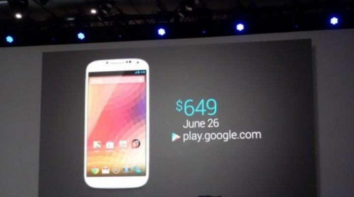 Samsung Galaxy S4 Nexus joy, Verizon and Sprint pain