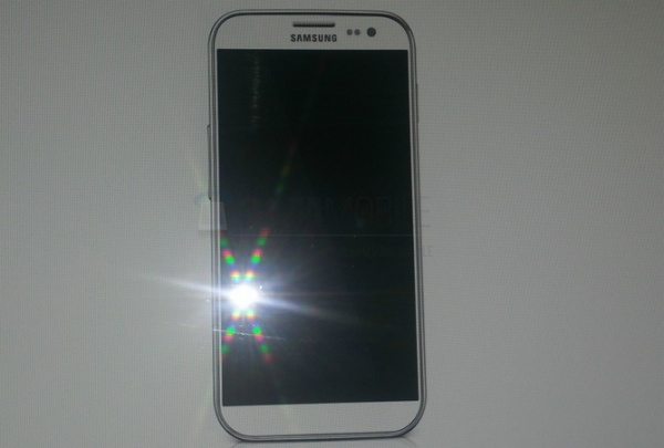 Samsung Galaxy S4 visual with no home button