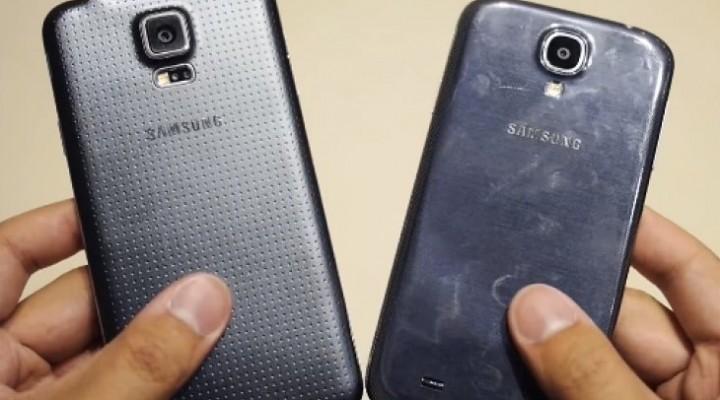Samsung Galaxy S5 Vs Galaxy S4 review