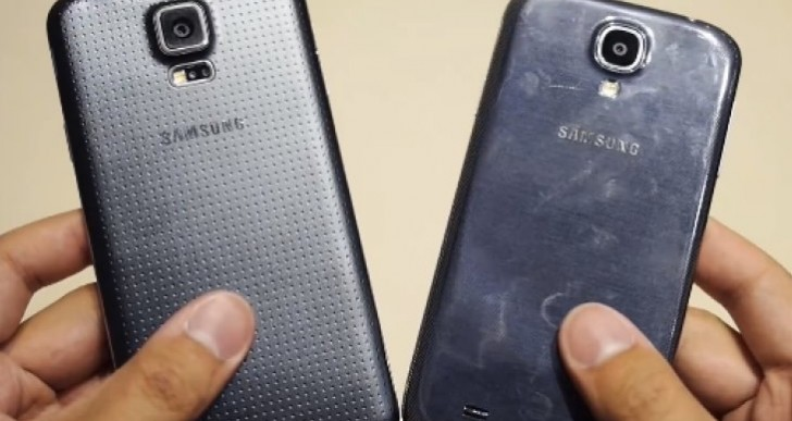 Samsung Galaxy S5 Vs Galaxy S4 review