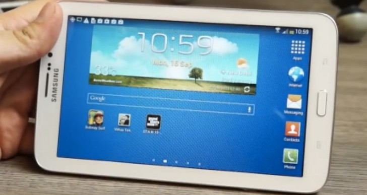 Samsung Galaxy Tab 3 7 review for gaming tested