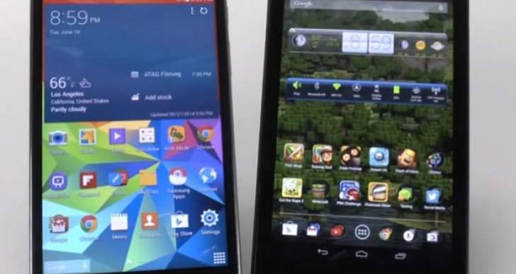 Samsung Galaxy Tab 4 7.0 Vs Nexus 7 2013 review