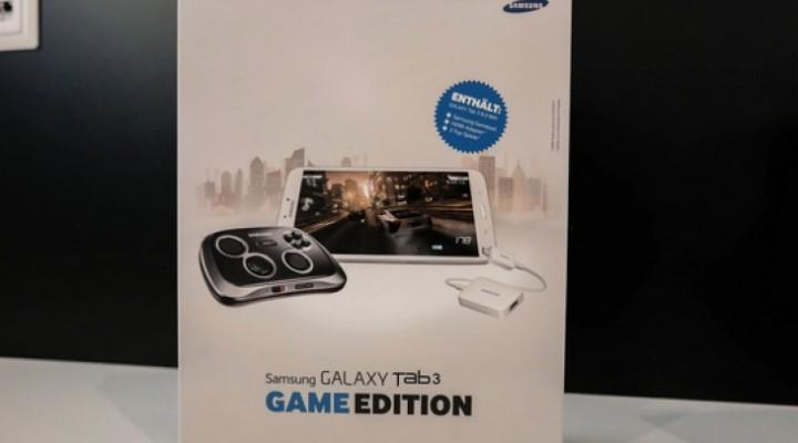 Samsung Galaxy Tab 3 8.0 with GamePad in 2014