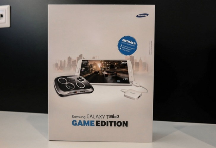 Samsung Galaxy Tab 3 8.0 with GamePad in 2014