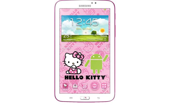 samsung hello kitty tablet