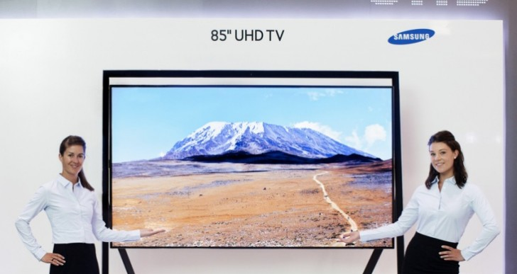 Samsung 105-inch UHD TV for PS4, Xbox One dreams