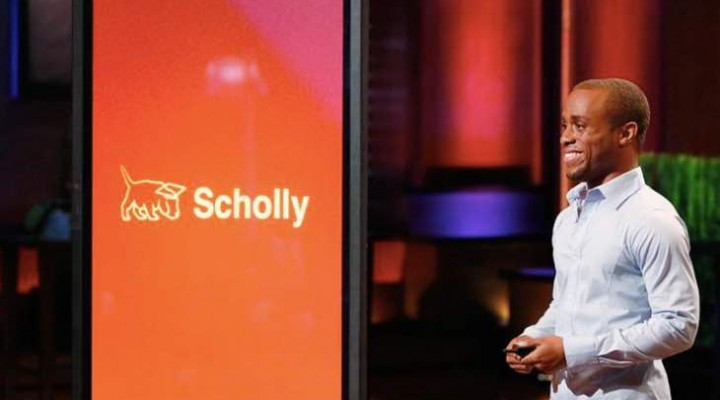 Scholly app for iPhone, Android after Shark Tank fight