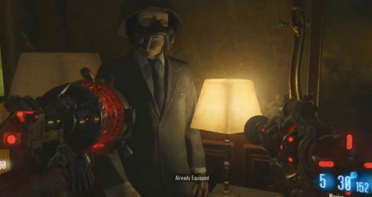 BO3 Gorod Krovi Zombies secret helmet for boss bonus
