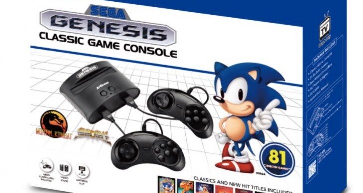 Sega Megadrive Classic games list for Argos Black Friday