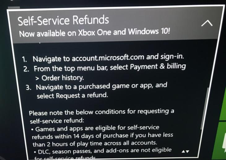 self-service-refunds-xbox