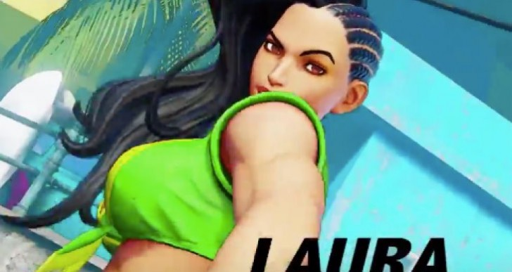 Street Fighter 5 Laura trailer leaked early