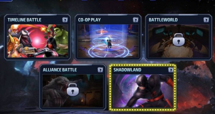 Marvel Future Fight Shadowland rewards list