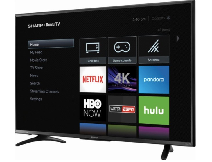 sharp lc 50lbu591u 50 inch 4k tv review with hdr warning product reviews net. Black Bedroom Furniture Sets. Home Design Ideas