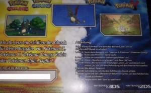 Pokemon ORAS Shiny Charizard event for US, UK