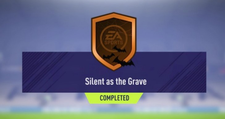 FIFA 18 Silent as the Grave SBC for easy reward