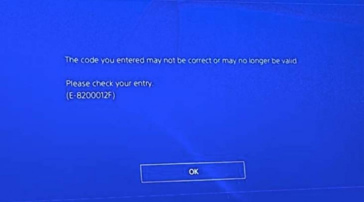 Singstar PS4 servers down with E-8200012F error