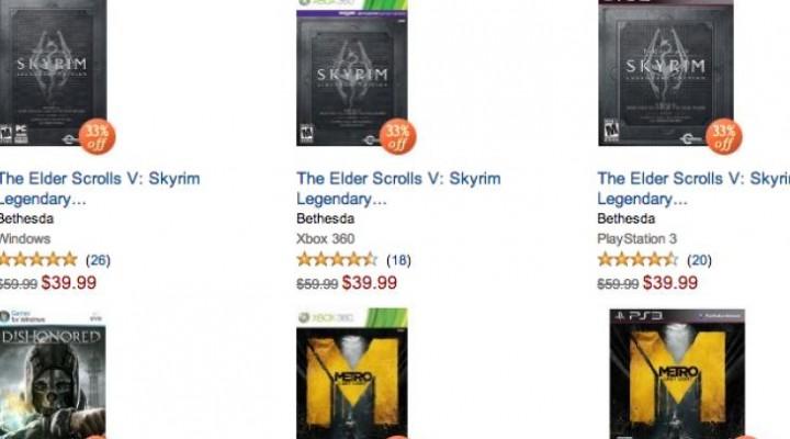 Skyrim Legendary Edition going for cheap online
