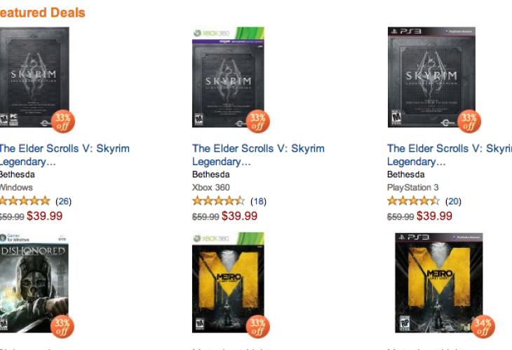 Skyrim Legendary Edition going for cheap online