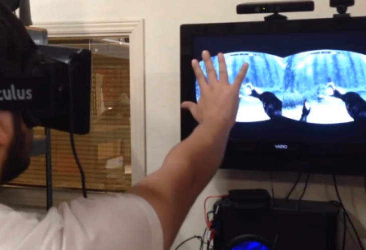 Skyrim's best experience with Oculus and Kinect